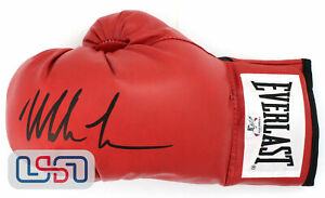 Mike Tyson Autographed Signed Everlast Red Left Hand Boxing Glove Tyson Auth