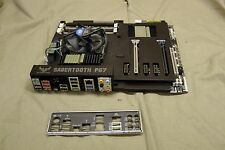 ASUS Sabertooth P67 Rev 3.0 LGA 1155 w/ i7 2600K 3.4ghz & IO Shield #7707