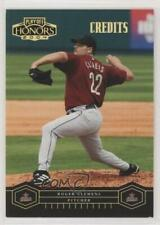 2004 Playoff Honors Credits Gold /25 Roger Clemens #93