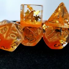 Falling Leaves Dungeons and Dragons Dice Set | Limited Edition | DND DICE