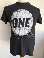 """ONE by Edun """"Make Poverty History"""" one.org Official Bono U2 T-Shirt Size Small"""