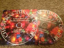 CHRISTMAS TIDINGS OF JOY THE CENTRAL BAND OF ROYAL BRITISH LEGION PROMO CD
