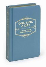 One Line a Day: A Five-Year Memory Book, , Excellent Book