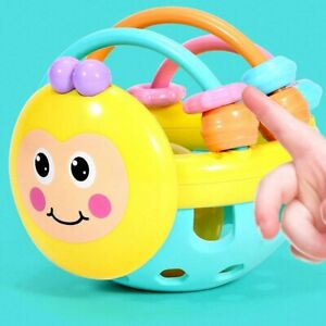 Rattle Toys Baby Educational Soft Rubber Cartoon Bee Toddler Interactive Ball