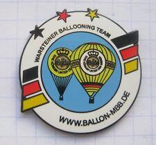 BALLON-MBB.DE / WARSTEINER BALLOONING TEAM  ... Bier-Ballon-Pin (125K)