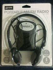 GPX, PORTABLE AM/FM RADIO R116B