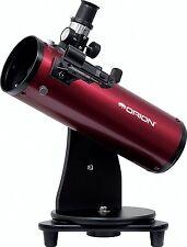 Orion 10012 SkyScanner 100mm TableTop Reflector Telescope Burgundy