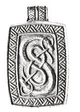 Trove of Valhalla - Urnes Snakes Pendant, Viking, Nordic, Skill & Ingenuity Gift