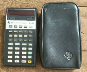 Texas Instruments SR-50 Calculator - Works