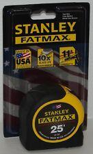 Stanley 33-725 25' FATMAX Industrial Grade BladeArmor Tape Measure