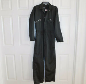 Vintage Walls Master Made Long Sleeve Mechanic Coveralls Jumpsuit Green 38 R
