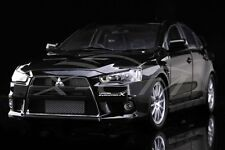 Diecast Car Model Mitsubishi Lancer EVO-X (Black) Right 1:18 + GIFT!!!