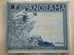 """Collectif périodiques """"LE PANORAMA"""" Paris 1900 Exposition universelle,beaux arts"""