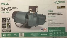 Zoeller (1461-0006) - 3/4HP (15GPM) Cast Iron Shallow Well Pump