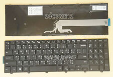New for Dell Inspiron 3565 3567 3568 3573 3576 Keyboard US & Arabic No backlit