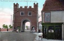 Honest Lawyer Pub South Gate King's Lynn (B) unused old postcard Valentine