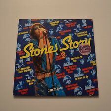 ROLLING STONES - Stones story - 1976 DUTCH LP + BOOKLET & POSTER