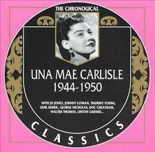 UNA MAE CARLISLE 1944-50 CLASSICS CD LONG OUT OF PRINT NEW SEALED