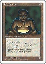 Clay Statue X4 EX/NM 4th Edition MTG Magic Cards Artifact Uncommon Regenerate