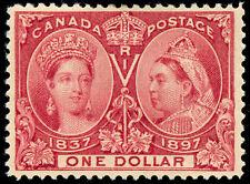 momen: Canada Stamps #61 $1 Jubilee Mint OG VF