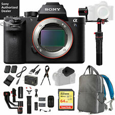 Sony a7S II Full-frame Mirrorless Camera with Feiyutech a2000 Gimbal Pro Bundle