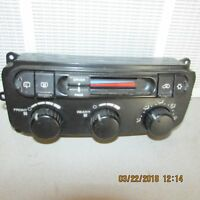 2004 2005 2006 2007 CHRYSLER TOWN COUNTRY HEATER CLIMATE TEMP CONTROL 0322201813