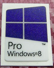 Original Windows 8 Pro Blue Replacement Computer Sticker