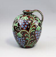 99845041 Vase Krug Schlickermalerei Jugendstil um 1900