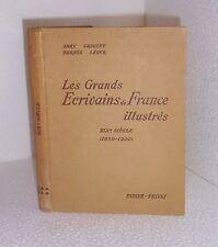 Les grands ecrivains de France illustrés.XIXème siecle.Didier-Privat 1948 BB7