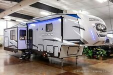 New 2022 Forest River Cherokee Arctic Wolf 3550Suite Rear Living 5th Fifth Wheel