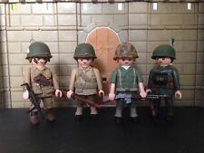 Playmobil soldados americanos 2ºGuerra mundial