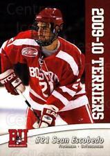 2009-10 Boston University Terriers #19 Sean Escobedo