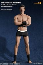 1:6 Phicen Flexible Male Seamles Strong and Handsome Suntan Muscular Body M33