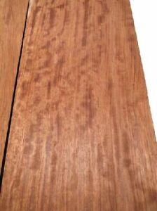Bubinga geriegelt Rosenholz Tonholz curly 89x30/31cm 51mm