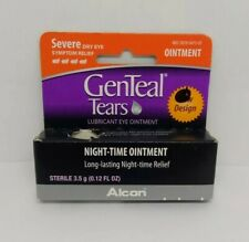Genteal Tears Night-Time Lubricant Eye Ointment Severe Dry Eye Relief Exp 2/2021