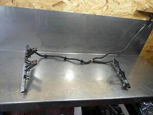 Porsche Cayman Boxster 987 Kraftstoffsammelrohr Einspritzrohr 98711003102