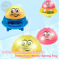 Infant Child Electric Induction Sprinkler Toy Baby Play Water Toys Bath Toy Neu