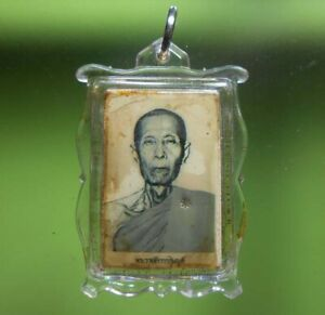 TOP! LP THO OLD THAI BUDDHA AMULET PENDANT VERY RARE !!!