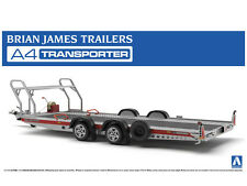 NEW AOSHIMA BRIAN JAMES TRAILERS A4 TRANSPORTER 1/24 Scale KIT MODEL