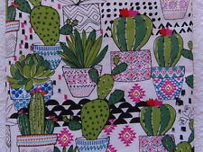 NEW & HTF Creating New Traditions GREEN CACTUS IN BRIGHT POTS *Made in America*