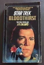 Star Trek Bloodthirst Paperback Book