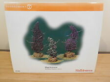 Dept 56 SV Halloween - Halloween Topiaries - Set of 3 - NIB