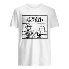 New! Peanuts I Still Miss Mac Miller T-shirt Black All Size S to 4XL PP628