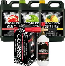 Prokleen Car Shampoo Snow Foam Wash Wax Lance Gun 15L Auto Karcher Compatible