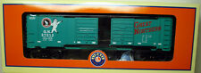 LIONEL TRAIN #6-37012 GREAT NORTHERN JUMPING HOBO BOX CAR NEW IN BOX