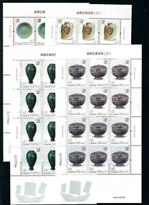 CHINA 2021-11 Full S/S CHINA Cultural Relics of the Silk Road II stamps 丝绸之路