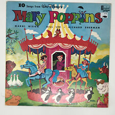 Disney 10 Songs From Mary Poppins Lp Vinyl Record Original 1964 Album