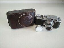 Zorki-1 Soviet Rangefinder Camera film 35mm with Industar-22.