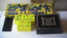 SAINT SEIYA VINTAGE/MYTH CLOTH:BLACK V1/STEEL PLAQUES/PANDORA BOX/BANDAI JAPAN