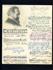 Autographs...Rachmaninoff Russian Composer &  Pianist Music Maestros & Legends